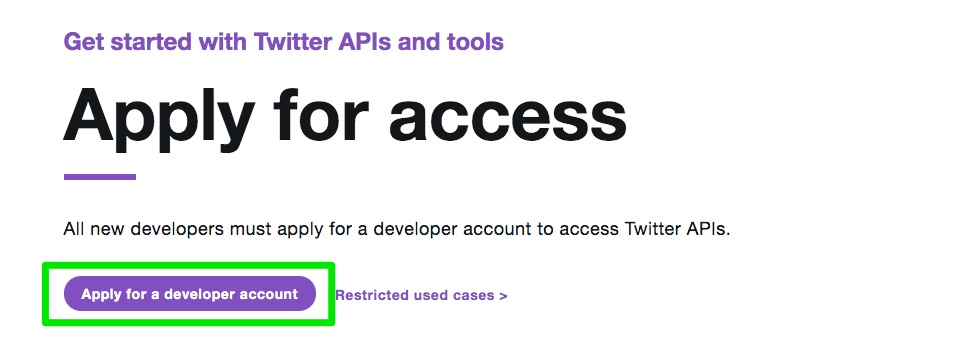 Apply_for_access_–_Twitter_Developers
